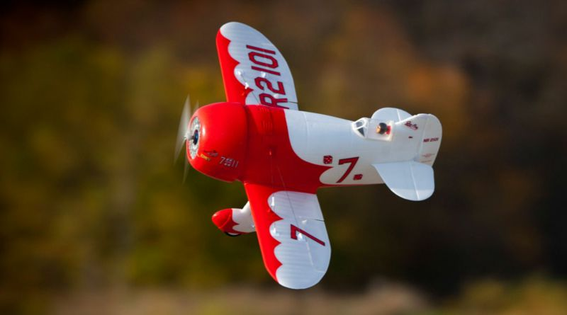 092-EFLU6150 UMX Gee Bee w/ AS3X and Safe S