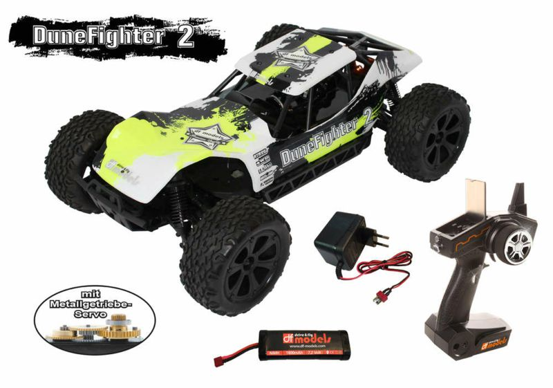 370-3060 DuneFighter 2 - brushed RTR