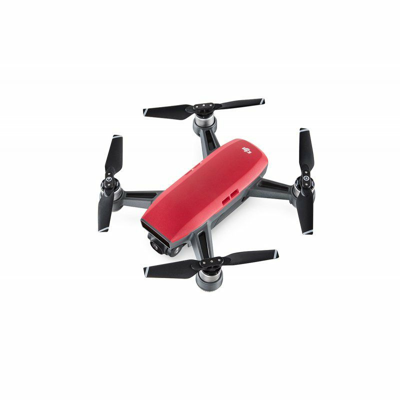 380-3596RED DJI Spark Fly More Combo red