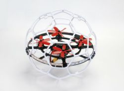 010-16580RTF SWEEPER Set RTF Droneball whi