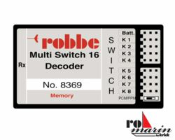 014-RO8369 Multi-Switch 16 decoder memor