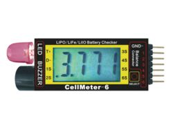 294-C4588 LiPo Cell Meter 2-6S