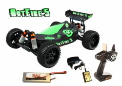 370-3009 Hotfire  Buggy, 1:10 Brushl./